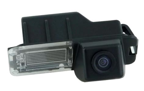 Камера в подсветке номера